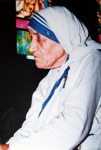 La Madre Teresa en sus últimos años.