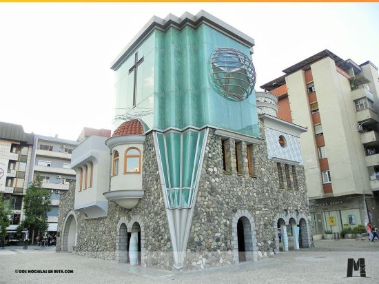 Casa Memorial y Museo de la Madre Teresa en Skopje.