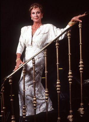 Lina Morgan en noviembre de 1991