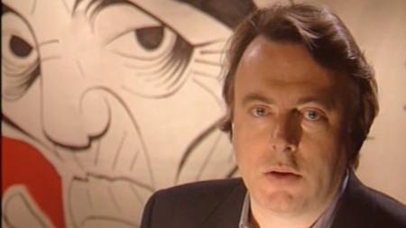 El escritor y periodista Christopher Hitchens.