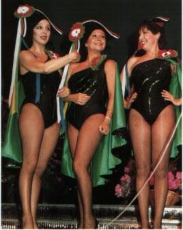 Años más tarde coincidieron las tres en el escenario.