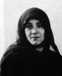 La novicia Teresa en febrero de 1929