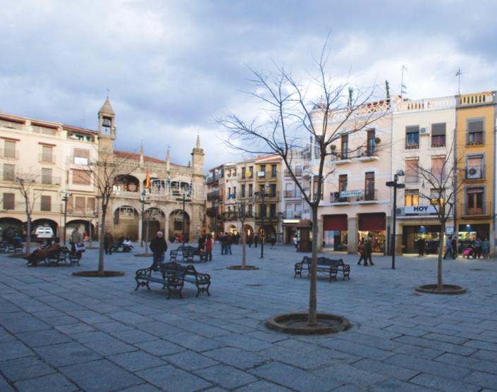 Plasencia, (Plaza Mayor)