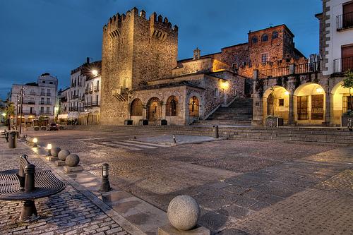 15 Cáceres, (Plaza Mayor)