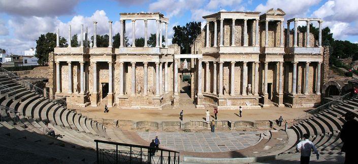 Mérida, (Teatro romano)