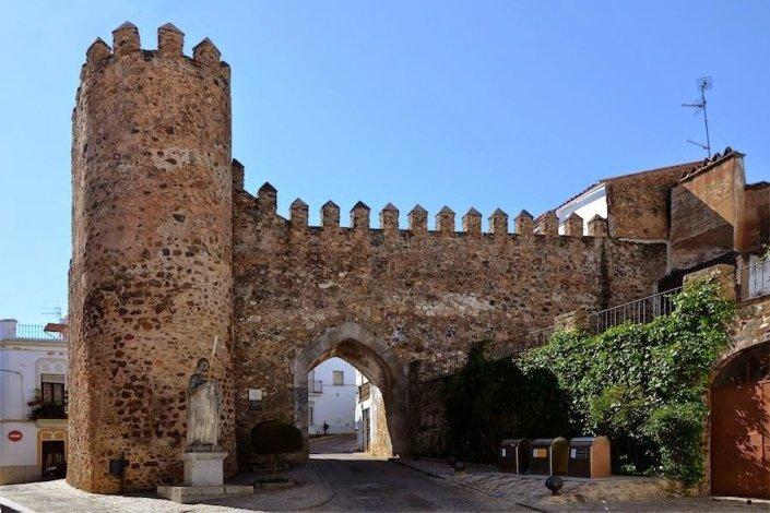 Jerez de los Caballeros, (Puerta de Burgos)