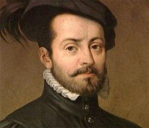 Hernán Cortés Monroy Pizarro Altamirano, (Medellín, Badajoz 1485 - Castilleja de la Cuesta, Sevilla, 1547), conquistador de México.
