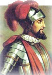 Vasco Núñez de Balboa, (Jerez de los Caballeros, Badajoz, 1475 - Acla, actual Panamá, 1519),descubrió el Océano Pacífico.