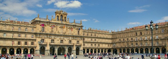 Salamanca, (Plaza Mayor)