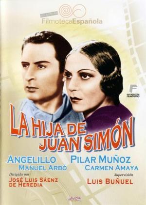 Cartel de La hija de Juan Simón 1935)