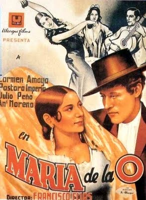 Cartel de Maria de la O (1936)