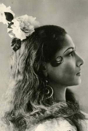 Carmen Amaya en 1940.