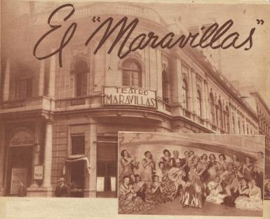 Teatro Maravilllas, Buenos Aires, Argentina.