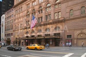 Carnegie Hall de Nueva York.