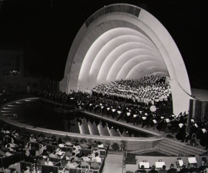 Hollywood Bowl.