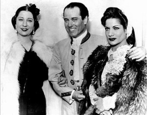Concha Piquer, Pepe Marchena y Carmen Amaya en Buenos Aires (1945)