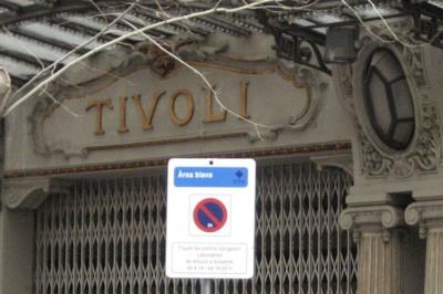Teatro Tívoli de Barcelona.