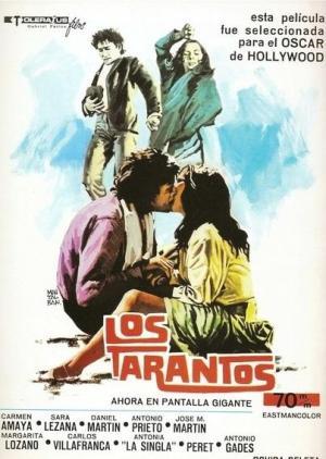 Cartel de la película Los Tarantos (1963)