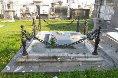 Tumba de Carmen Amaya en el cementerio de Ciriego de Santander.