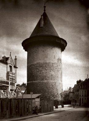 Torre del castillo donde estuvo encarcelada.