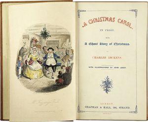 Primera edición de la novela en 1843.
