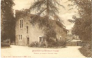 Casa natal de Juana en Domrémy.