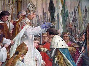 Coronación de Carlos VII de Francia.