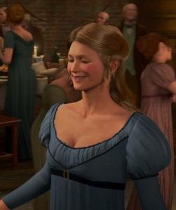 Su antigua novia Belle.