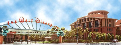 Disney Studios en Burbank, California.