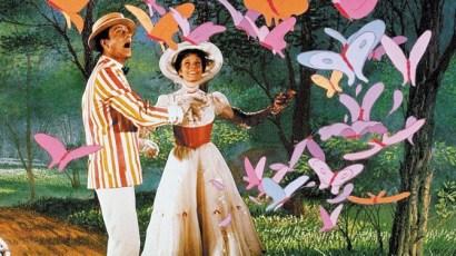 """Una escena de """"Mary Poppins"""" con Julie Andrews y Dick Van Dyke."""