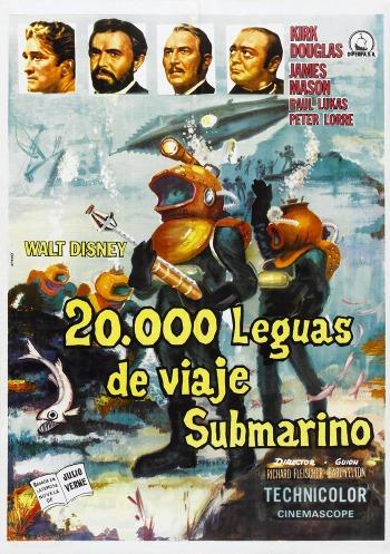 """""""20.000 Leguas de viaje submarino""""."""