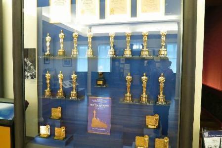 Algunos de los premios conseguidos por Walt Disney.