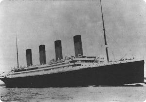 El trasatlántico Titanic.