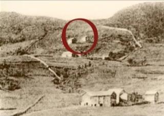 La casa donde nació.