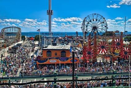 Coney Island, Nueva York.
