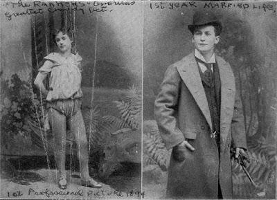 Bess y Erik en 1894.
