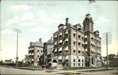 Hospital Grace de Detroit, Michigan.