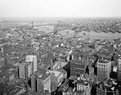 Nueva York en el año 1900.